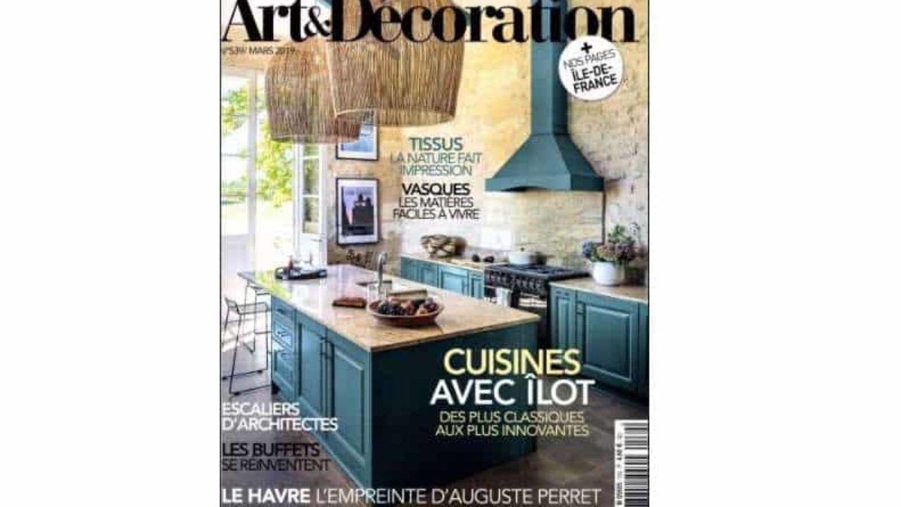 Abonnement Magazine Art Et Décoration Pas Cher 24 Les 12 Au Lieu