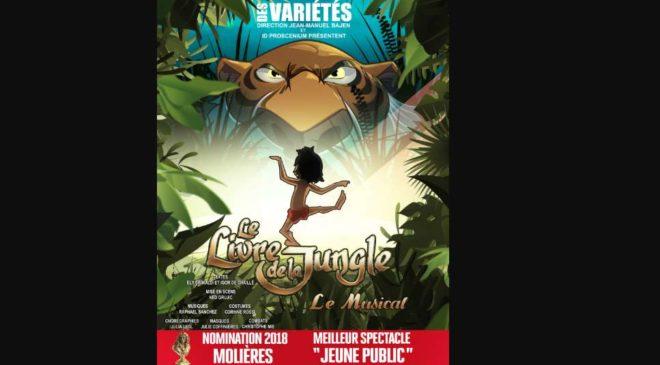 Billet comédie musicale Le livre de la jungle pas cher