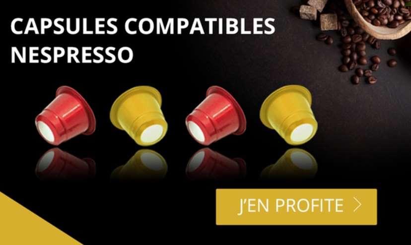 Bon d'achat Monexpresso capsules compatibles Nespresso