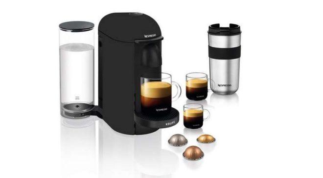 Bonne affaire cafetière Nespresso Vertuo Plus Krups