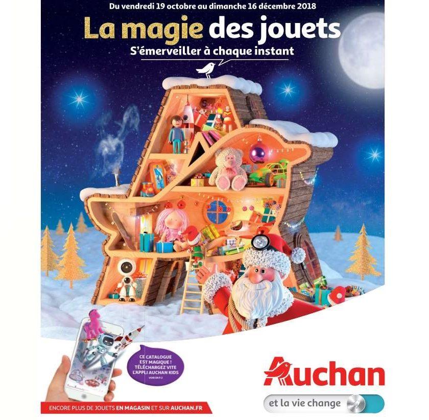 Catalogue Jouets Auchan Noel 2018