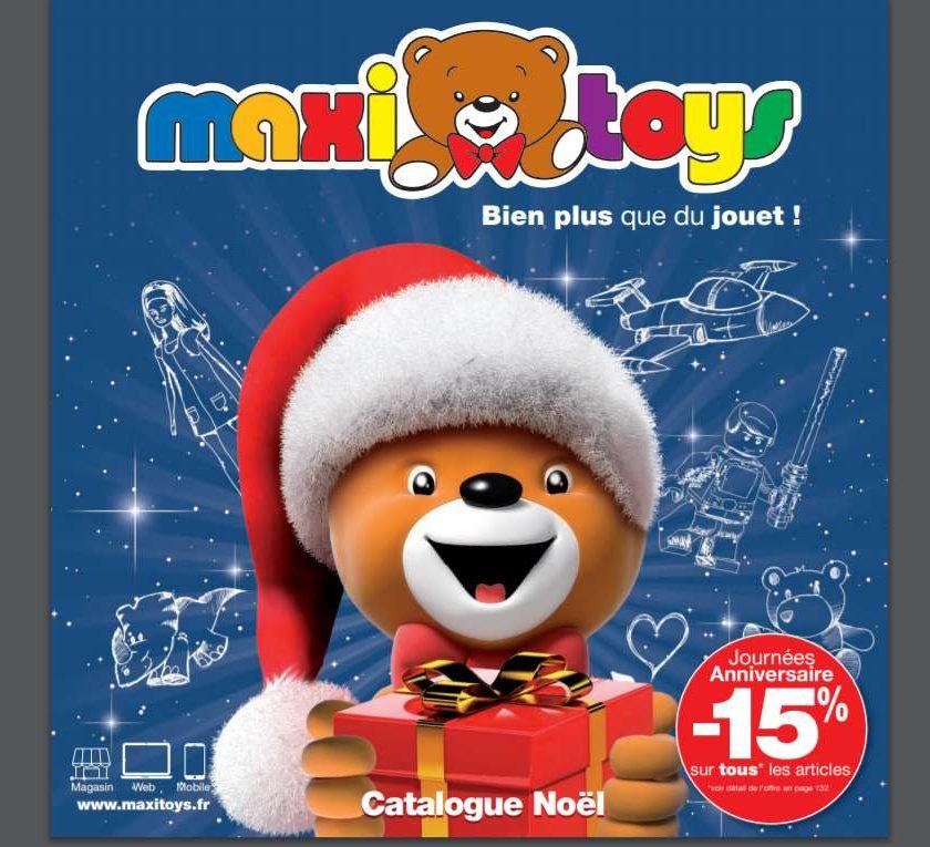 Catalogue Noel MaxiToys 2018