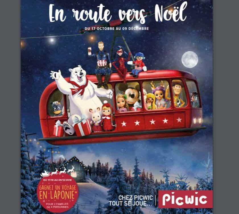 Catalogue des jouets Picwic Noel 2018