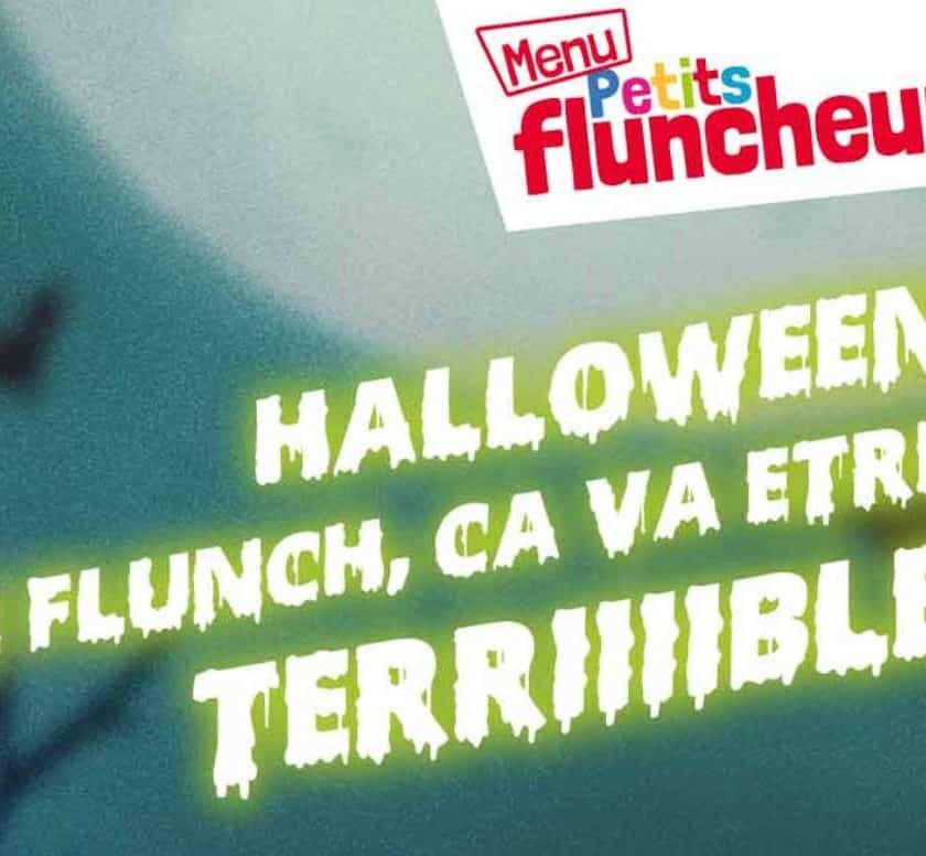 Flunch fête Halloween menu Petits Fluncheurs offert