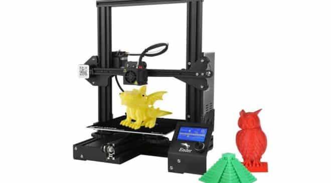 Imprimante 3D Creality Ender 3 VENTE FLASH