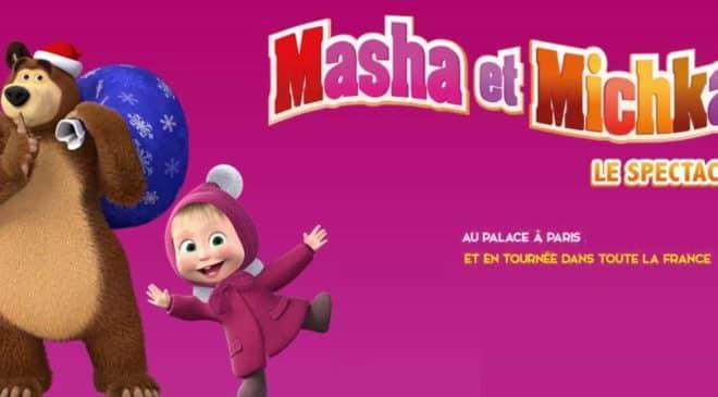 petits prix pour voir lacomédie musicale Masha et Michka