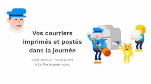 Merci Facteur S Occupe D Imprimer Et Envoyer Vos Lettres