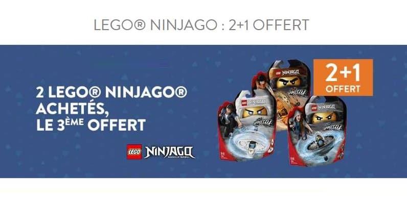 Offre Lego Ninjago sur Cultura