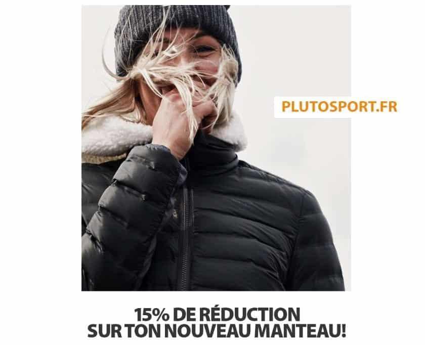 Offre Plutosport code promo manteaux