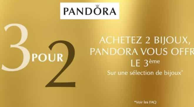 Offre le troisième bijou Pandora offert