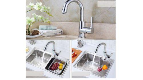 Robinet salle de bain ou cuisine pas cher mitigeur Homelody vente flash