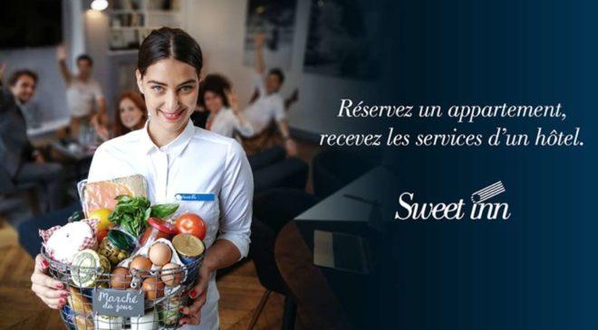 Rosedeal Sweet Inn bon d'achat hébergement appartement Europe prestations hôtel haut de gamme