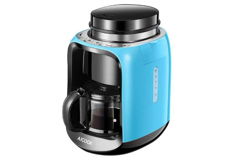 cafetière filtre 2 en 1 Aicook avec broyeur