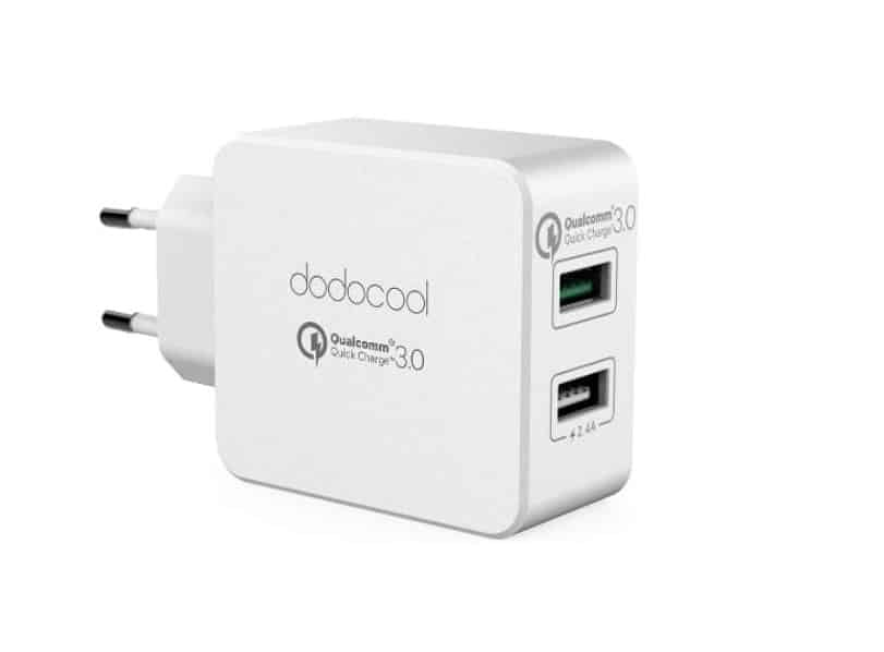chargeur double USB Dodocool charge rapide Quick charge 3