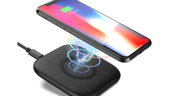 chargeur rapide sans fil QI pour smartphone Iphone Dodocool