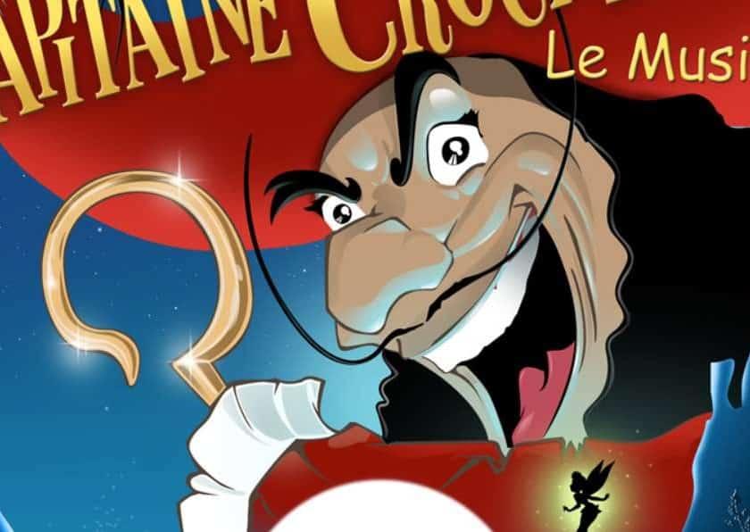 comédie musicale La Revanche du Capitaine Crochet pas cher
