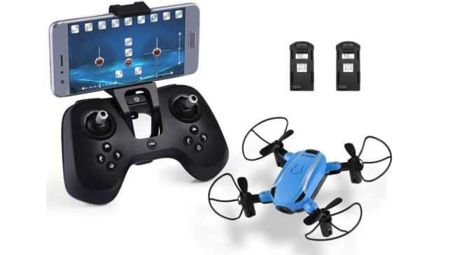 mini-drone avec camera HD 720p Helifar Wifi