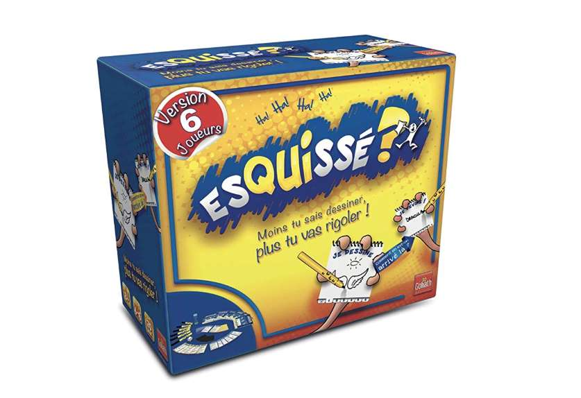 10€ remboursés pour l'achat du jeu Esquissé de Goliath