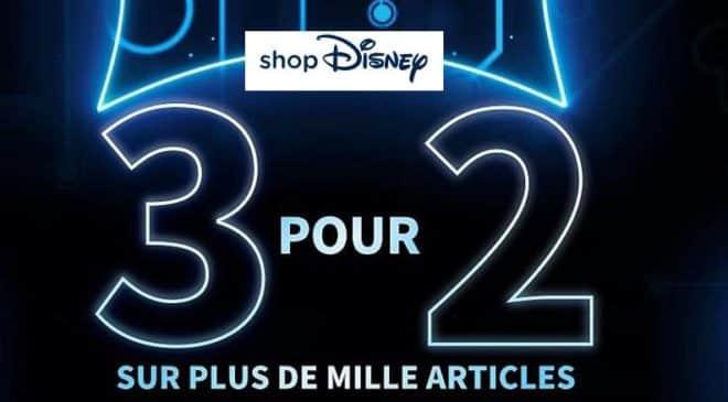 2 articles achetés sur Disney Store