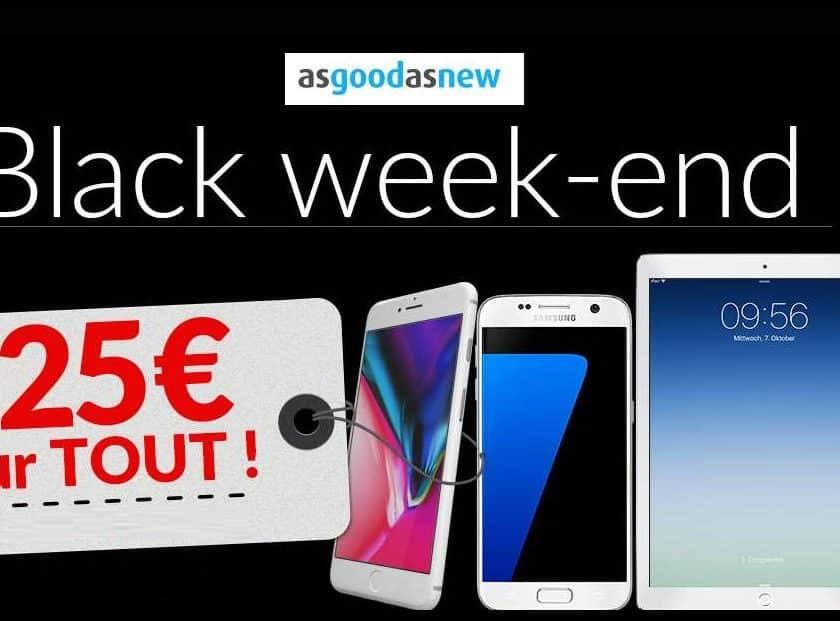 25€ de réduction sur Asgoodasnew smartphones, tablettes… reconditionnés à neuf garantie