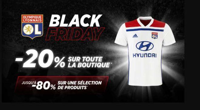 Black Friday Boutique Olympique Lyonnais