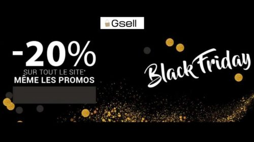 Black Friday - Cyber Monday Gsell