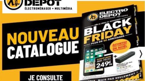 Black Friday Electro Depot découvrir les promotions à saisir dès aujourd'hui