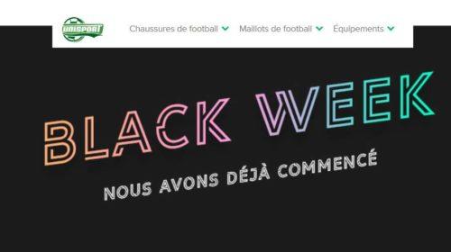 Black Friday Unisport articles de foot