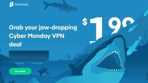 Bon plan VPN pas cher pour le Black Friday Surfshark