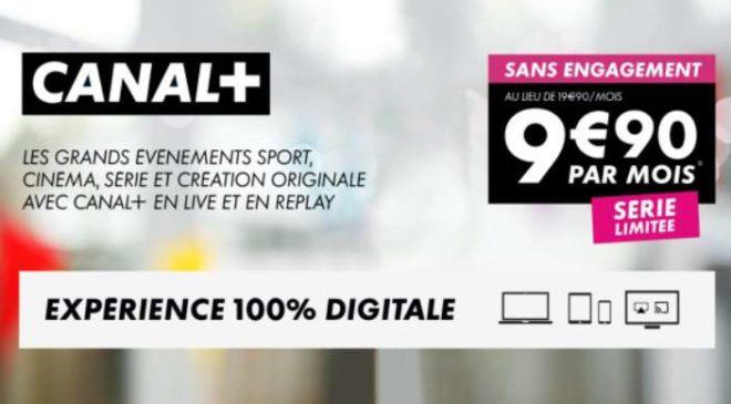 Canal Plus sans engagement en vente privée
