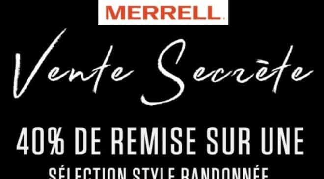 Cyber Monday Merrell