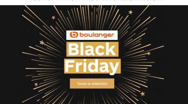 Les bonnes affaires du Black Friday de Boulanger