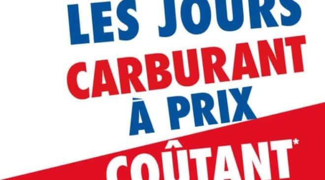 Liste des stations Leclerc et Carrefour proposant le carburant à prix coûtant
