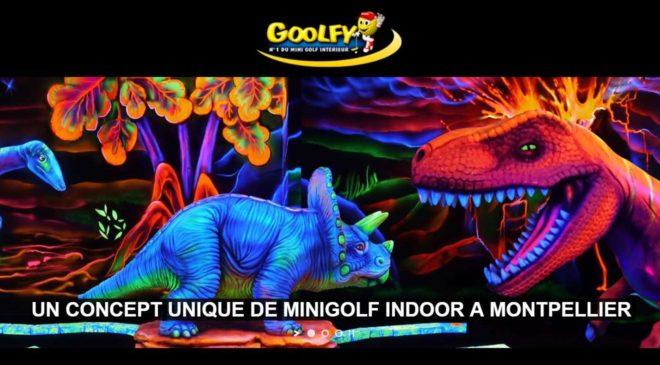 Mini-golf Goolfy Montpellier pas cher
