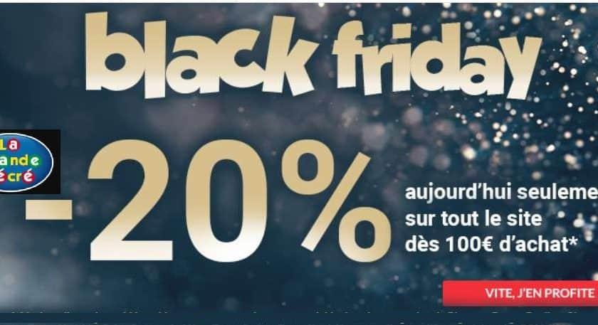 Offre Black Friday La Grande Récré