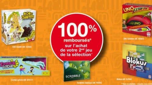 Offre de remboursement Mattel Games de Noel le second jeu 100% remboursé