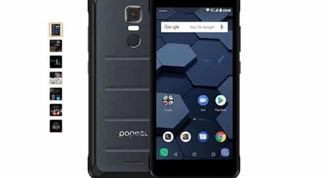 PROMO smartphone étanche antichoc Poptel P10