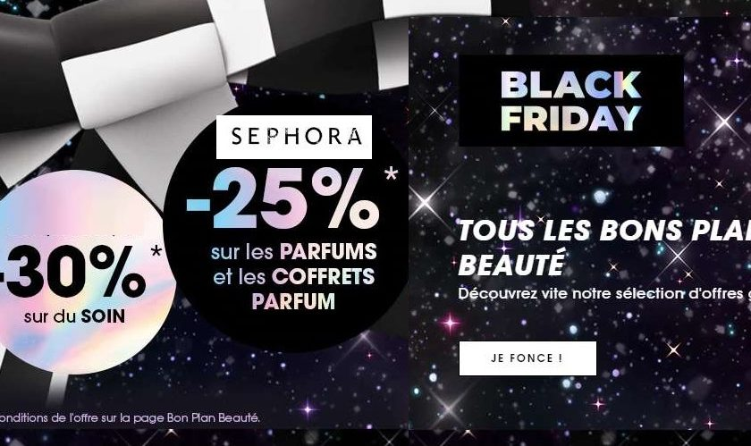 Semaine Black Friday Sephora