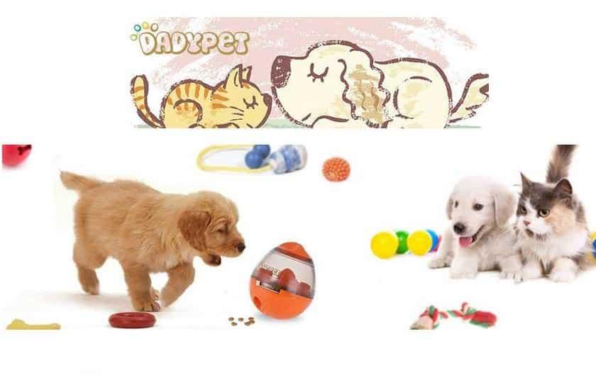 balle-distributeur de croquettes chien ou chat DADYPET