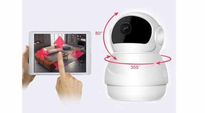 caméra de surveillance sans fil Wi-fi HD 1080P Decdeal