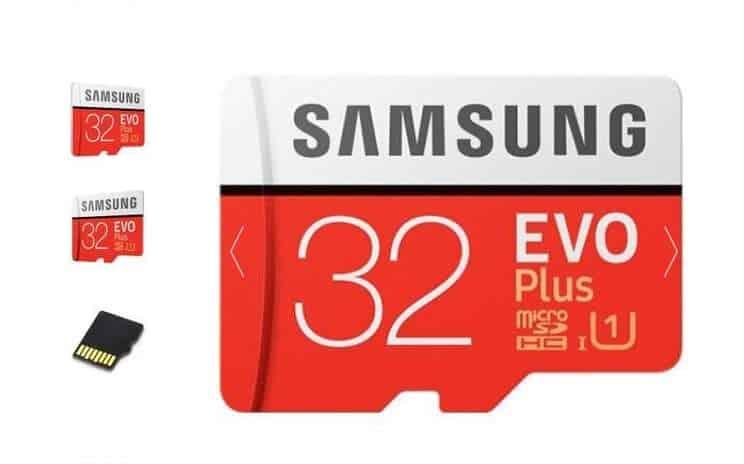 carte microSDXC 32Go Samsung EVO PLUS pas chere