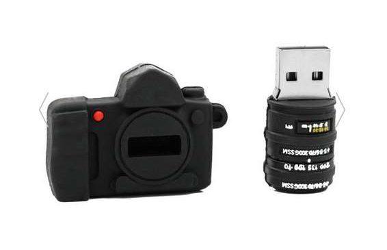 clé USB fantaisie appareil photo 32Go