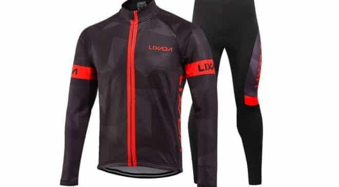 ensemble cycliste hiver Lixada