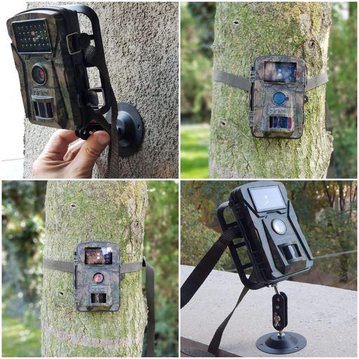 fixation camera de chasse
