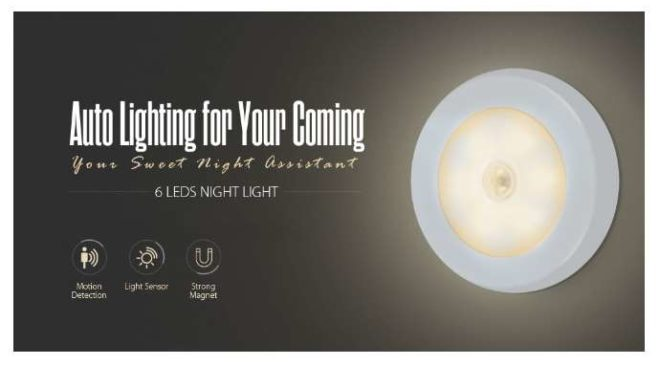 lampe Led détecteur de mouvement et de lumière utorch