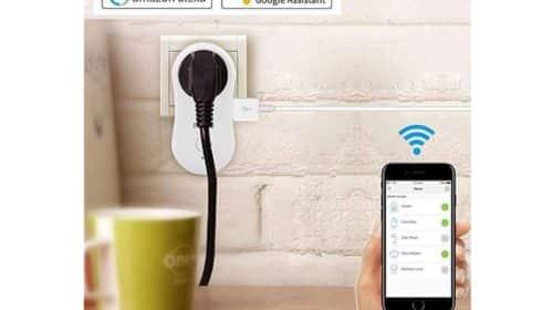 les 2 prises connectées WiFi avec port USB Bawoo
