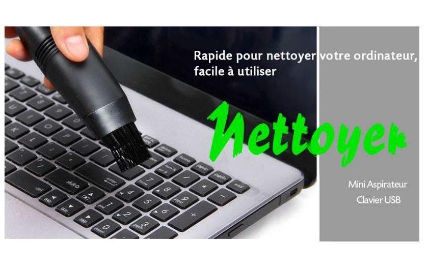mini aspirateur de clavier pour ordinateur portable USB