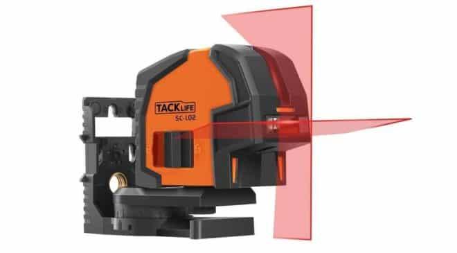niveau laser croix - vertical - horizontal Pro Tacklife SC-L02