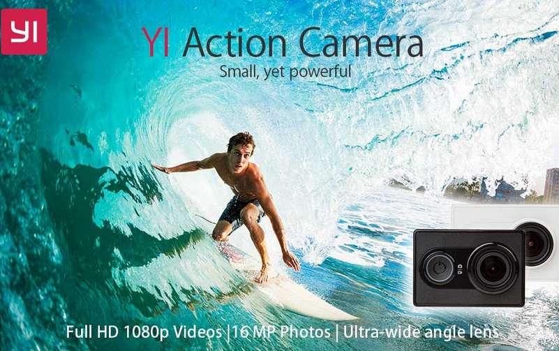 pas chere caméra sport YI 1080p Full HD Wifi