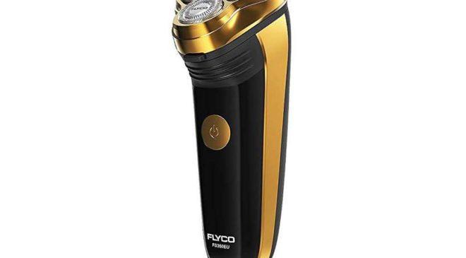 rasoir rechargeable compact têtes pivotantes Flyco